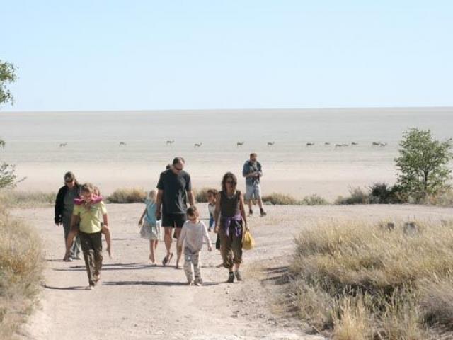 Etosha Pan, Etosha National Park, Namibia