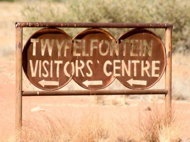 Twyfelfontein World Heritage rock engravings, Damaraland, Namibia