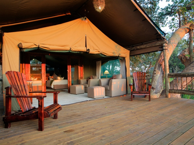 Gunn's Camp, Safari Tent