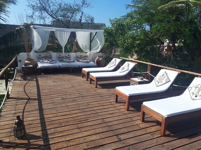 Baia Sonambula Guesthouse, Tofo Beach - Seaview Deck