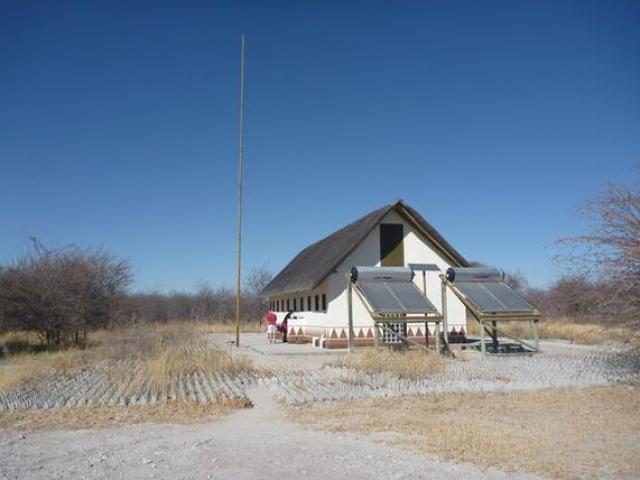 Ablution block, Camping, Botswana