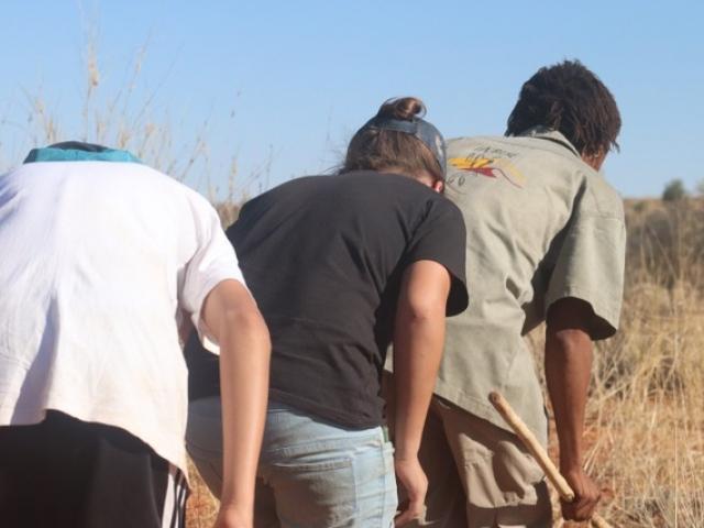 Erin Farm, Bush Walk with the #Khomani San