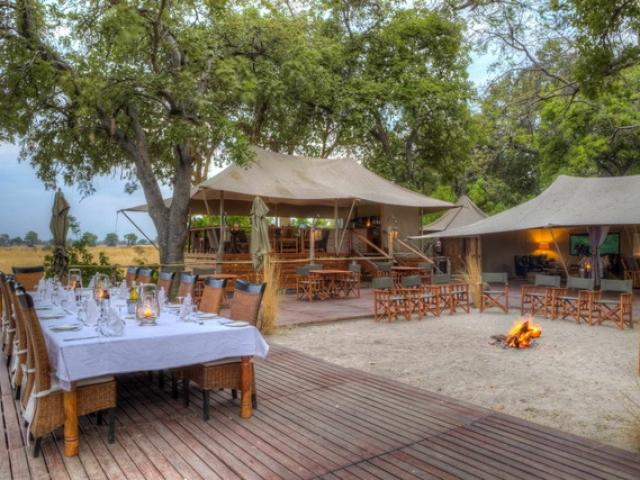 Kadizora Camp, Main Lodge Area