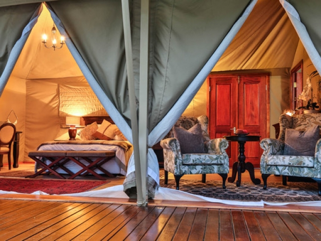 Kadizora Camp, Safari Tent