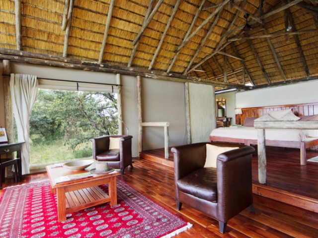 Kwando Lagoon Camp, Safari Tent (Interior)