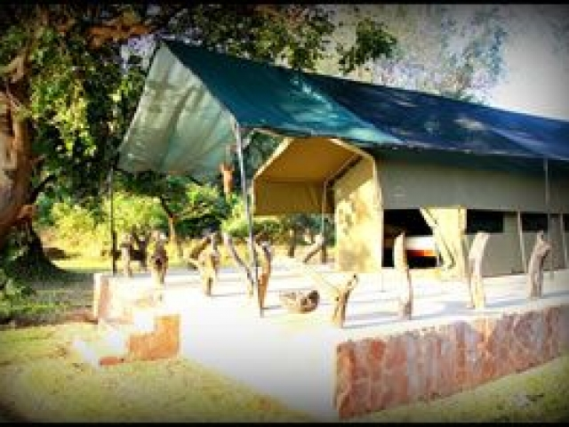 Chalet, Croc Valley Camp, Zambia