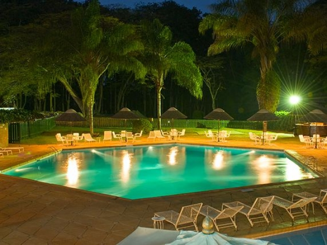 Sunbird Capital Hotel pool, Malawi
