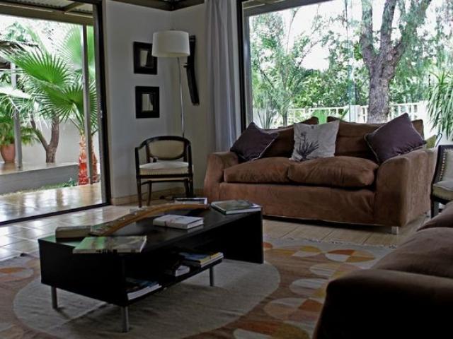 Elegant Guesthouse lounge, Windhoek