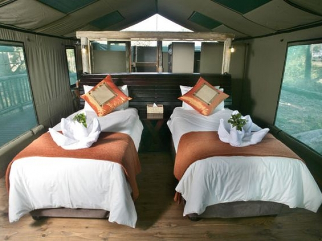 Moremi Crossing, Safari Tent (Interior)
