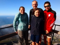 On top of Table Mountain, Cape Town, South Africa