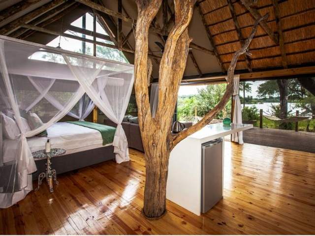 Victoria Falls River Lodge guest suite, Victoria Falls package