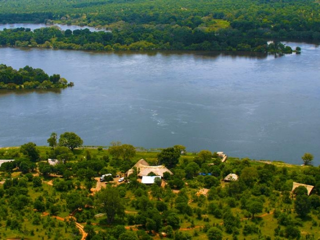 Victoria Falls River Lodge, right on the Zambezi River, Victoria Falls package