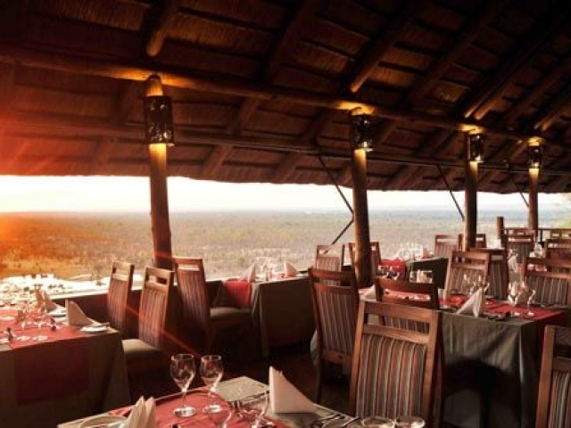 Safari Lodge restaurant, Victoria Falls