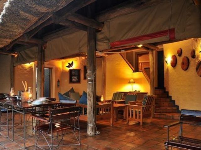 Lokuthula Lodge, Victoria Falls package, suite lounge area