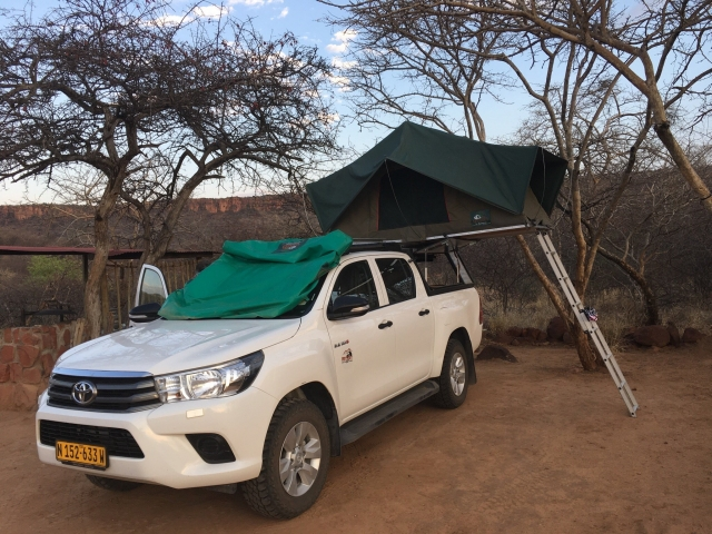 Waterberg Resort Campsite, Waterberg Plateau Park