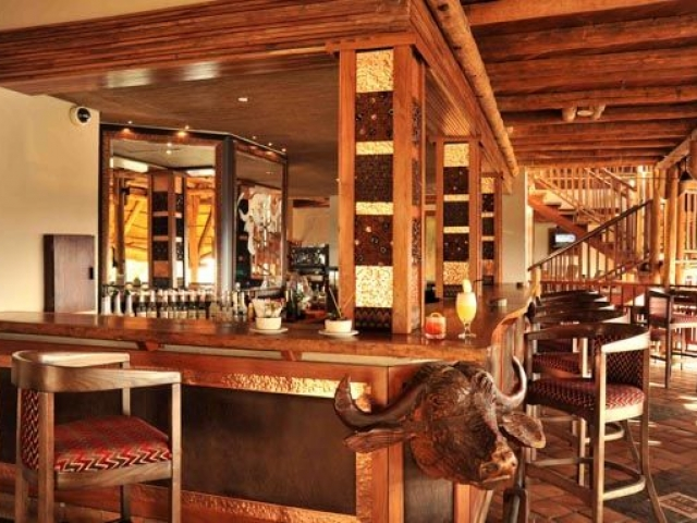 Buffalo Bar, Victoria Falls Safari Lodge (upgrade accommodation)