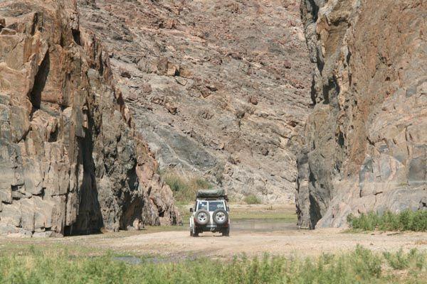 Puros Canyon, Kunene