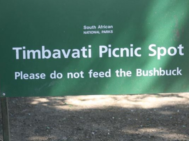 Kruger National Park has a range of excellent picnic spots for you to stop at, stretch you legs and have something to eat