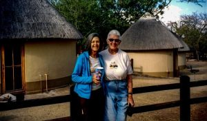 Jeanette and Joanie in Kruger