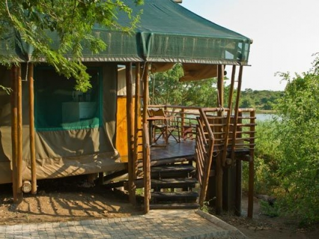 Kruger National Park - Lower Sabie, tented accommodation