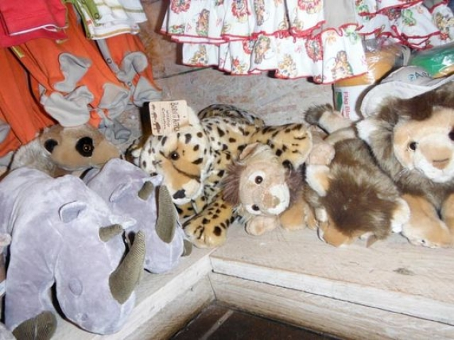 Some of the great toys you can buy in the Kruger National Parks shops - photo by Cadan!