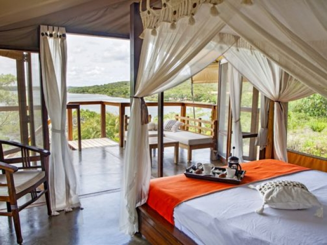 Naara Eco Lodge, tent with view