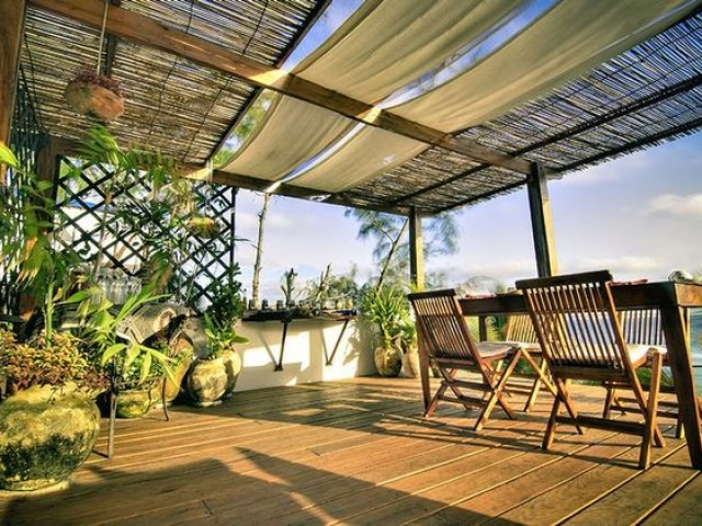 Baia Sonambula Guesthouse, Tofo Beach - Verandah