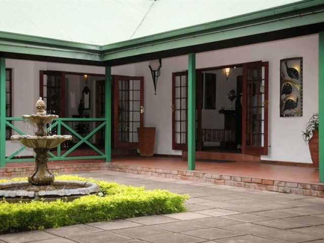 Tzaneen Country Lodge reception