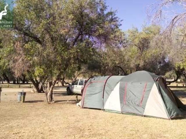 Augrabies Falls National Park campsite