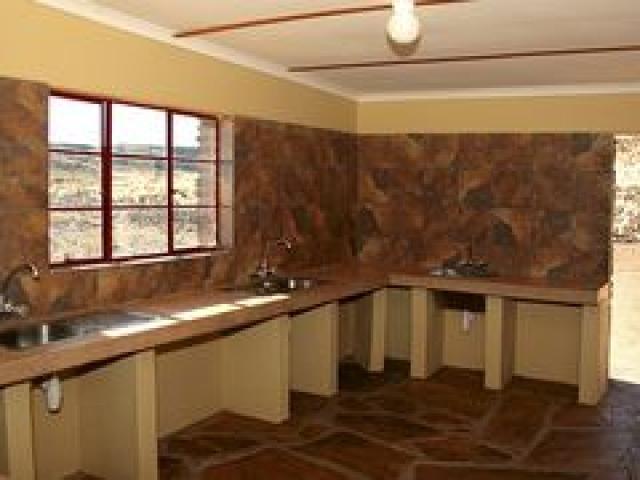 Canyon Roadhouse camp kitchen