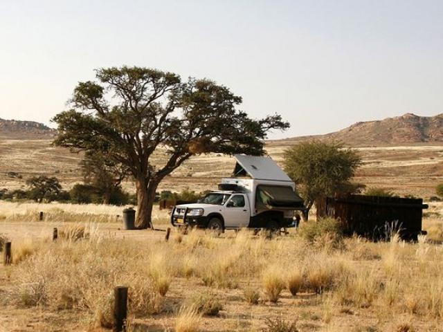 Desert Horse Inn, Campsite