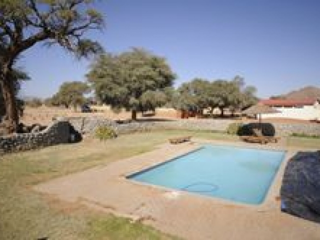 Sesriem Campsite swimming pool, Namib Naukluft National Park