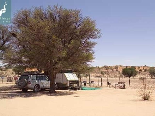 Mata Mata campsite