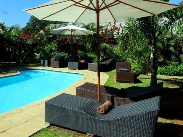 Lidiko Lodge pool, St Lucia