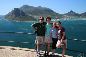 Paul family in Hout Bay, Cape Town
