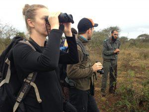 Emily in Kruger National Park