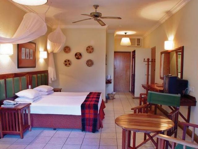 Chobe Safari Lodge, Botswana and Zimbabwe, safari room