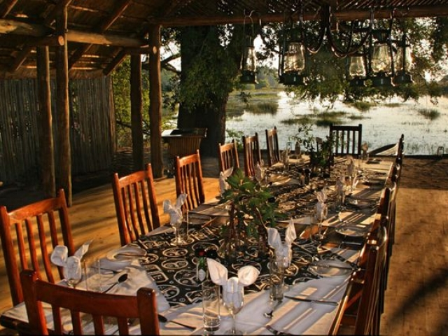 Moremi Crossing restaurant
