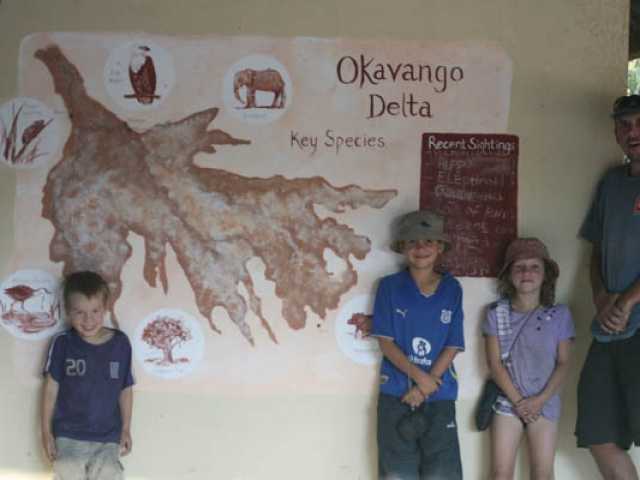 Yaaah we love the Okavango Delta, Botswana