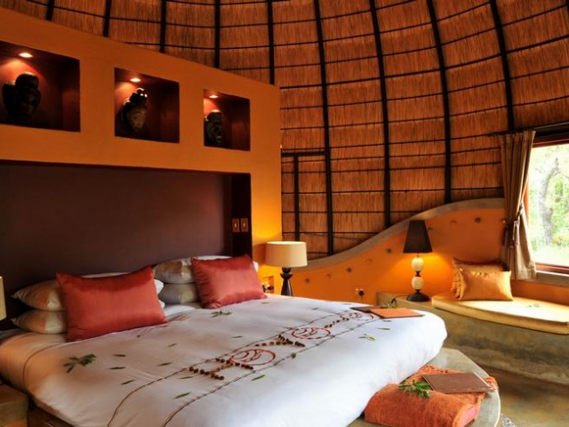 Hoya Hoya Safari Lodge, Kruger National Park, beehive hut accommodation, Kruger luxury safaris