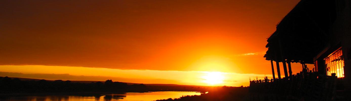 Lower Sabie sunset, Kruger National Park