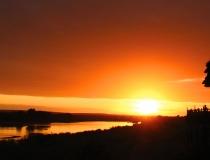 Lower Sabie at sunset, Kruger National Park, South Africa