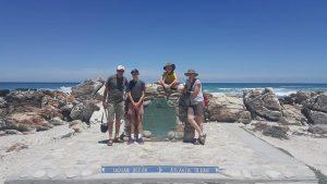 David, Rory, Thomas and Jo - where the oceans meet!