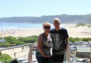 John and Jan at Salinas Restaurant Wilderness