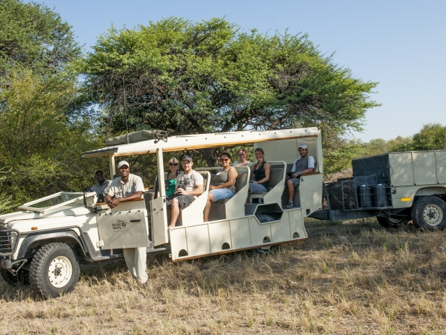 Custom built safari vehicle -  - guided safari Botswana