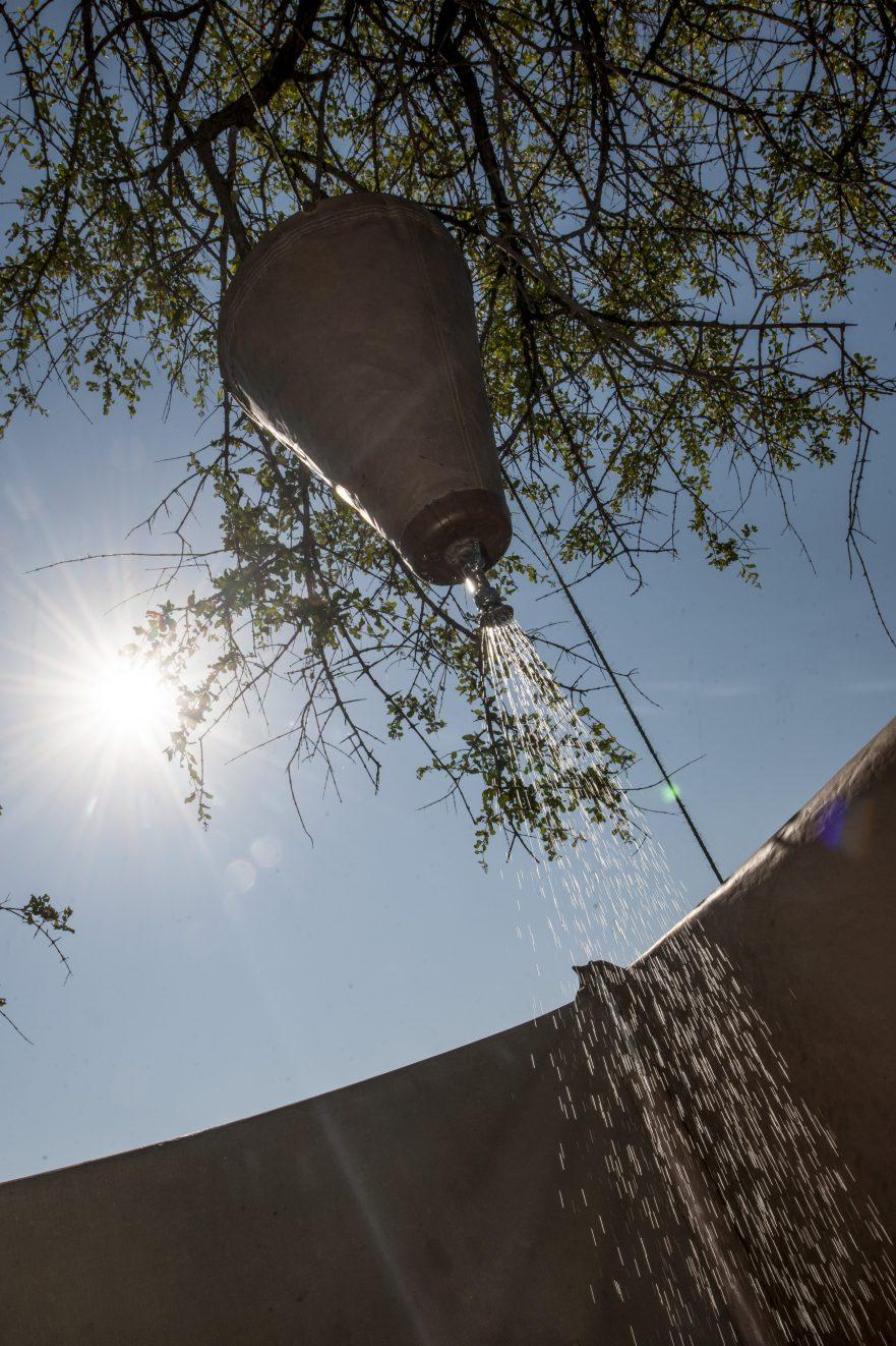 Highlights of Botswana, shower facilities