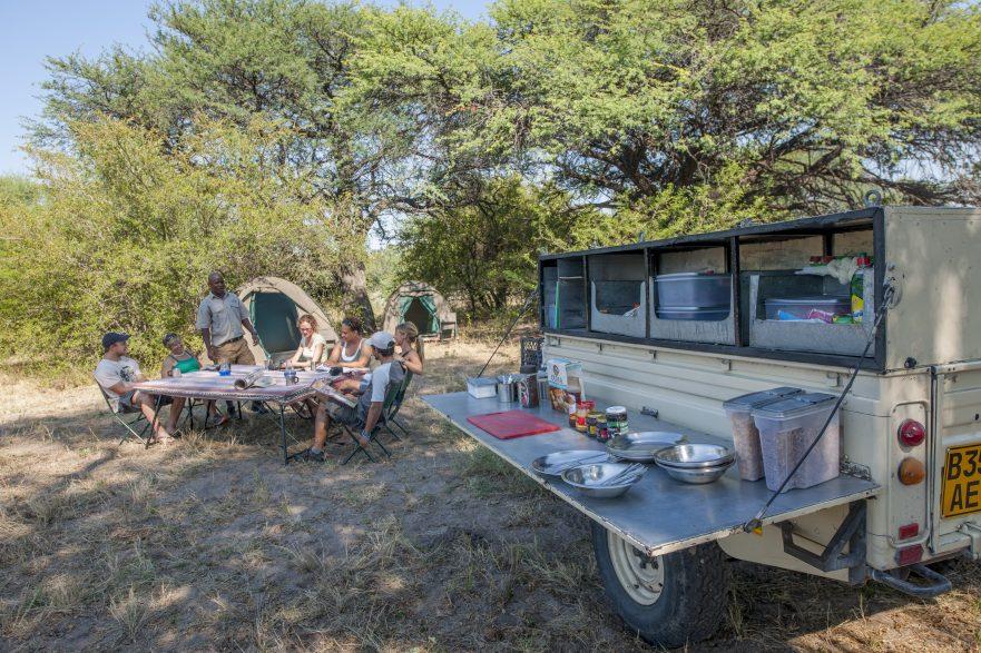 Highlights of Botswana, safari vehicle