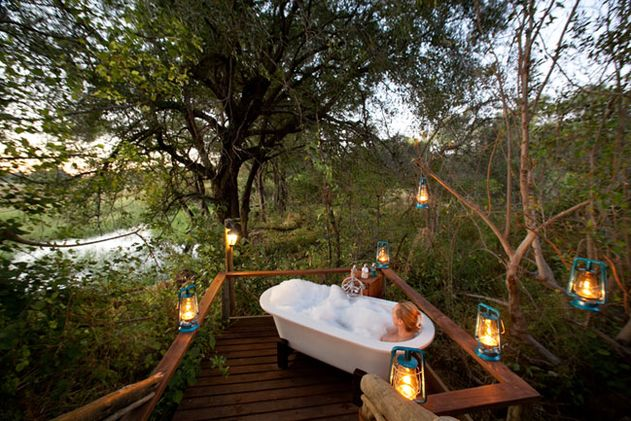 Honeymoon safari, southern Africa