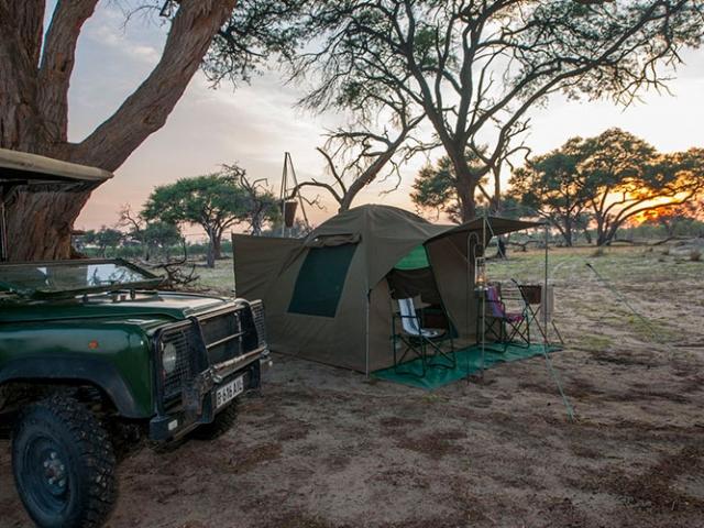 Okavango Delta camping safari