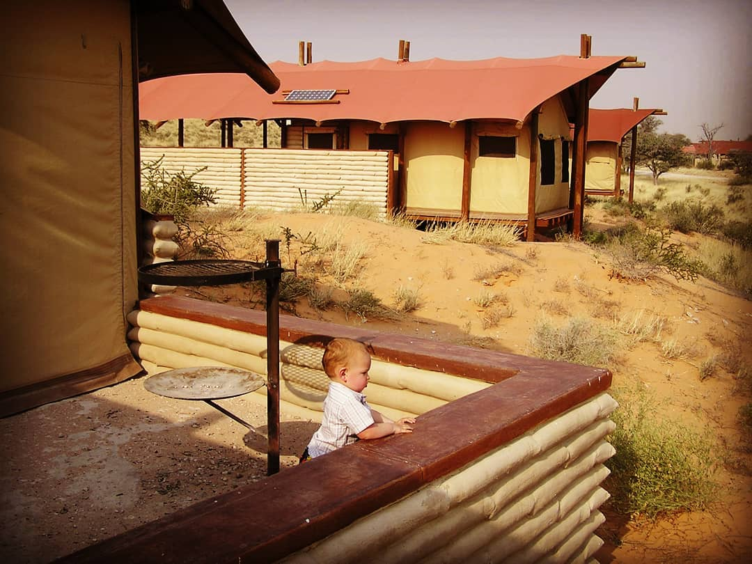 Kalahari tented camp, great value for money family accommodation in South Africa